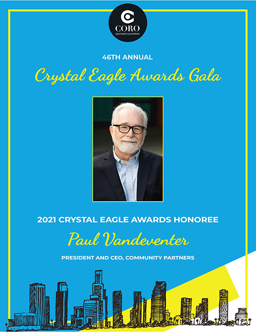 The 4th Annual Crystal Eagle Awards Gala Honors Paul Vandeventer
