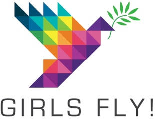 Girls Fly! logo