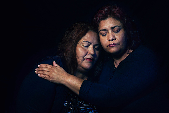 Juana and Bertha, two mothers connected by homicide, have found healing together